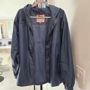 Wind breaker hooded jacket/ New without tag